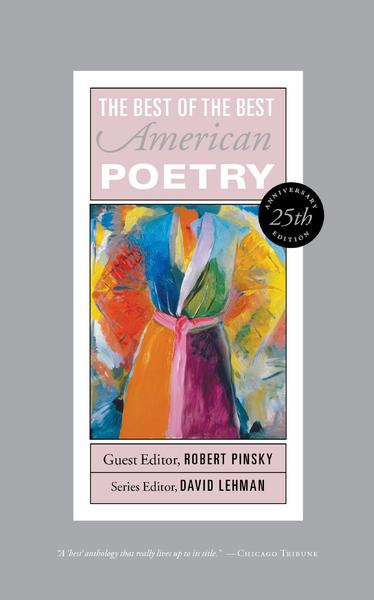 "The cover of ""The Best of the Best American Poetry."""