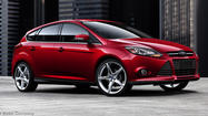 An American automaker has the top-selling car in the world -- the Ford Focus.