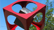 A dozen public art exhibits will be unveiled this month throughout Howard County.