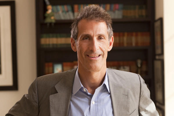 Michael Lynton photographed in his office at Sony studios in Culver City.