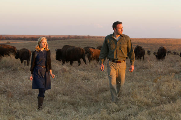 "Rachel McAdams and Ben Affleck star in Terrence Malick's ""To the Wonder."""