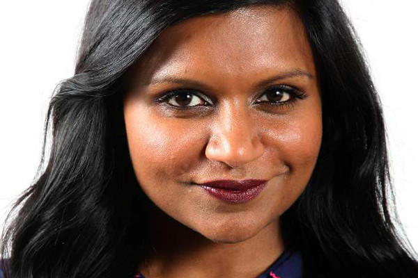 "Mindy Kaling of ""The Mindy Project."""