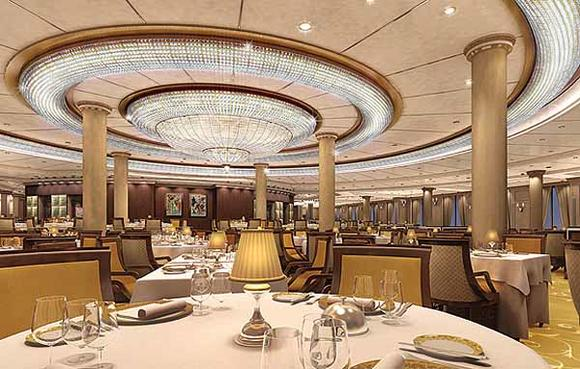 Oceania Marina renderings -- The Grand Dining Room