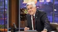 For the second time in less than a week, comedian Jay Leno turned to Stockton for material.