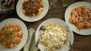 Buy one entree at Olive Garden and get a second to take home for $12.95. No coupon is necessary.