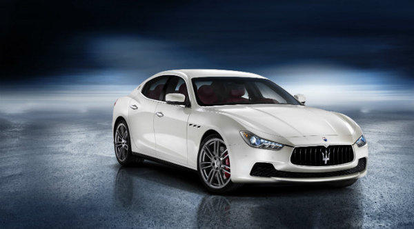 Maserati will unveil this all-new Ghibli at the 2013 Shanghi Auto Show on April 20. The car has a 404-horsepower, turbocharged V-6 engine and an eight-speed automatic transmission.