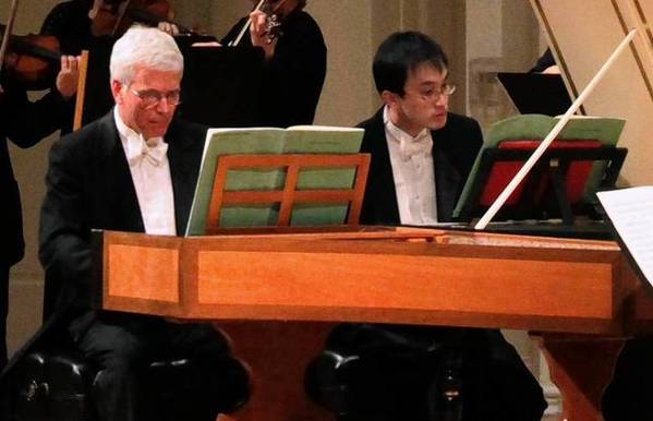 "Bach Week, ""Concerto for Two Harpsichords,"" from 2011, Richard Webster conducting."