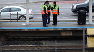 "Power on part of the Forest Park branch of the Blue Line was turned off briefly this morning after a person fell on the tracks at a West Side ""L"" stop."