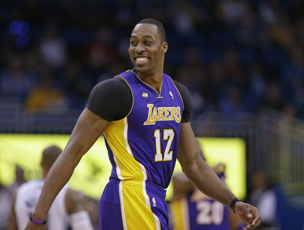 Dwight Howard is optimistic about the Lakers' post-season chances -- if they can just make the playoffs first.