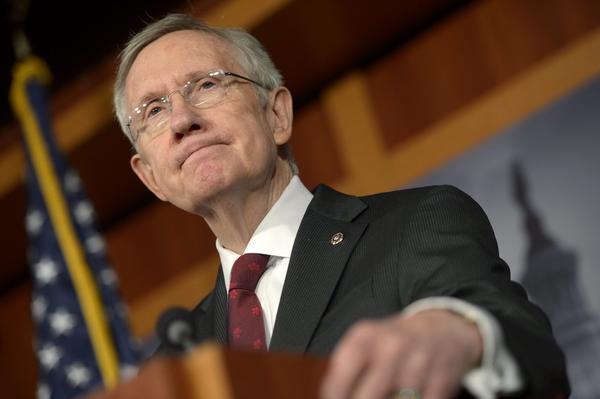 Senate Majority Leader Harry Reid