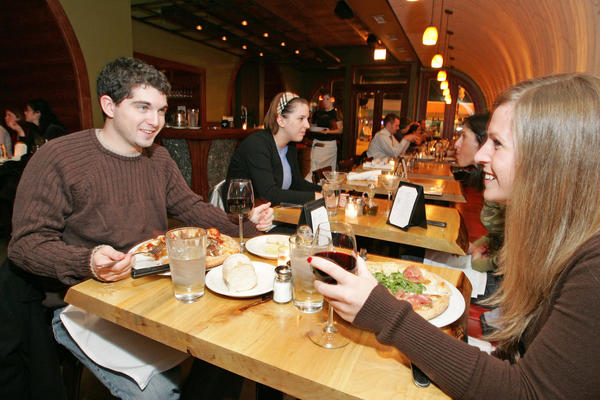 Try out some new wines and wash them down with pizza at Frasca.