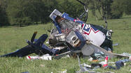 The pilot of a medical helicopter that crashed in Missouri in 2011 had been texting, and that was a contributing factor to the disaster that killed four people, federal investigators said.