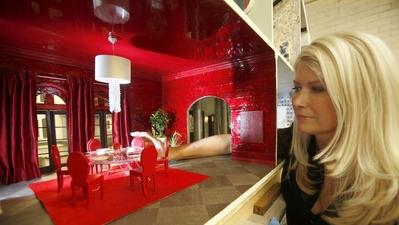 Designer dollhouses offer miniature life of luxury