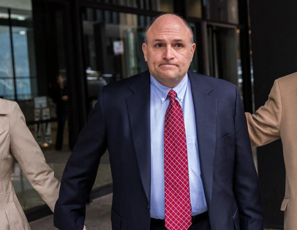 William Mastro leaves the Dirksen U.S. Courthouse in Chicago on Tuesday.
