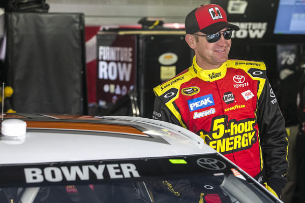 Clint Bowyer. (USA Today Sports Photo)
