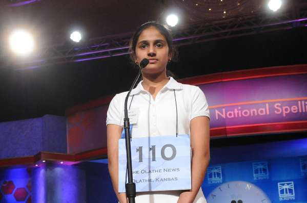 The National Spelling Bee's 2010 winner, Kavya Shivashankar, didn't have to worry about no stinkin' vocabulary.