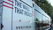 It's called The Wall That Heals and it's traveling around the country with the names of thousands of people who died during the Vietnam War.