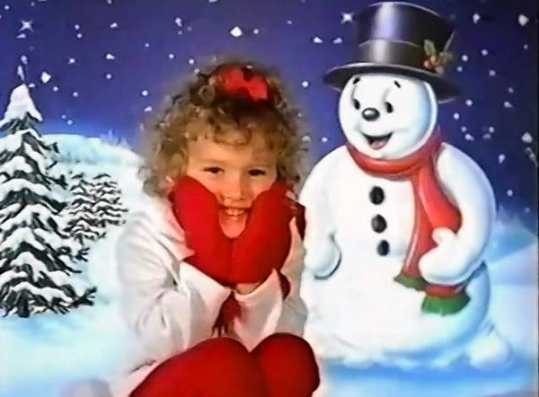 A still image from YouTube shows a 1999 TV ad for Sears Portrait Studios, operated by CPI Corp.
