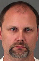 Middle school teacher Jeffrey Rightmire was arrested on suspicion of trying to seduce a minor.