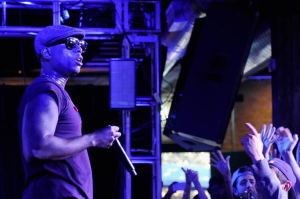 Rapper Talib Kweli performs at the Samsung Galaxy Sound Stage at SXSW March 11, 2013 in Austin, Texas.
