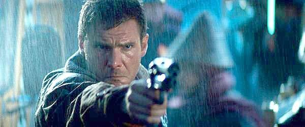 "Harrison Ford in ""Blade Runner."""