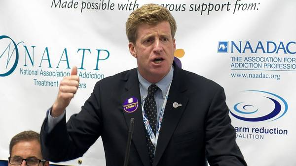 "Former U.S. Congressman Patrick Kennedy, as seen in the documentary ""The Anonymous People"""
