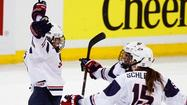 Megan Bozek of Buffalo Grove had a goal and Kendall Coyne of Palos Hills two assists as Team USA beat Canada 3-2 for the gold medal in the Women's Hockey World Championships Tuesday night in Ottawa.