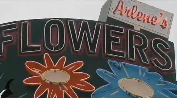 The owner of Arlene's Flowers in Richland, Wash., was sued by the state's attorney aeneral