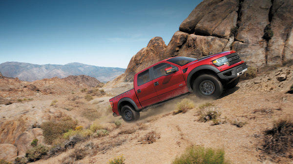 Ford's F-150 SVT Raptor Special Edition