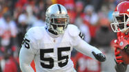 The Ravens are interested in inside linebacker Rolando McClain, a former top-10 pick of the Oakland Raiders.