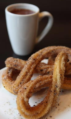 "Churros at <a href=""http://chicago.metromix.com/venues/mmxchi-xoco-venue"" target=""_"">Xoco</a>."