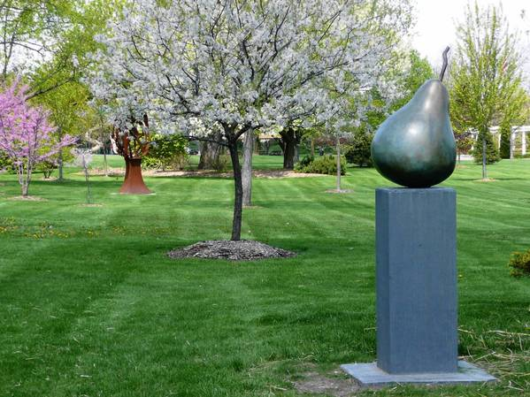 Sculptures in Mount St. Mary Park in St. Charles. The annual sculpture in the park series kicks off April 15.