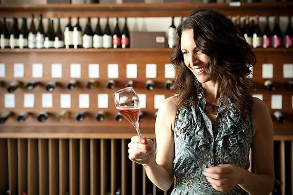 Susan Brink OFlagherty of Venokado wine shop is also wine director at Dominick's, Little Dom's and Tom Bergin's Tavern.