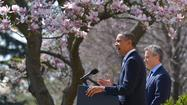 "<span class=""runtimeTopic"">WASHINGTON</span> -- President Obama argued for ""manageable"" changes to Medicare and other social safety net programs as he released his budget proposal, a plan aimed at staking out the middle ground in the stalled deficit reduction talks."