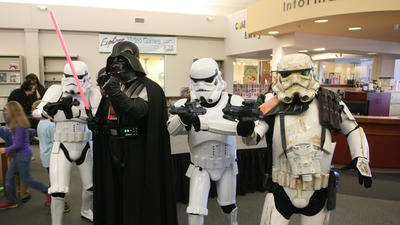 Star Wars fans become their favorite characters at Jessamine County Public Library event