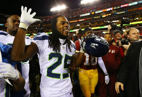 Seattle cornerback Richard Sherman thinks the NFL should do away with its Adderall ban.