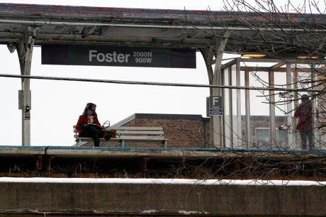 Foster Purple Line station