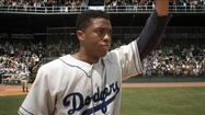 '42': Jackie Robinson has to share the spotlight with Branch Rickey ★★ 1/2