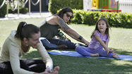 Photo Gallery: Children's yoga class at Americana at Brand