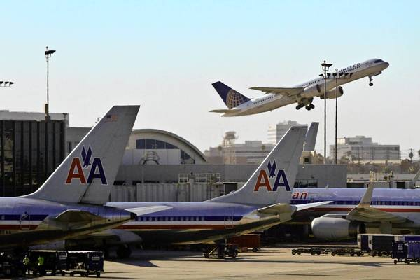 American Airlines is the second busiest carrier at LAX, behind United Airlines, carrying 16.3% of the passengers at the airport, but is expected to take over the top spot after it completes its merger with US Airways. Above, American planes parked at LAX in 2011.