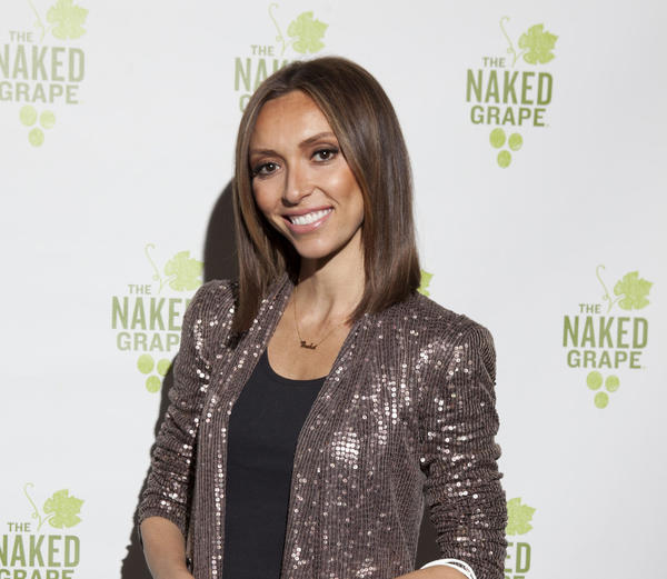 "Giuliana Rancic at Naked Grape Wine's ""Peel It Off to Give Back"" event at the Peggy Notebaert Nature Museum on Saturday, April 6."