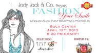"Meet Miami Dolphins football players at the ""Fashion Your Smile"" charity fashion show sponsored by <a href=""http://www.salonsbocaraton.com/"" target=""_blank"">Jody Jack & Co.</a> in Boca Raton on Friday."