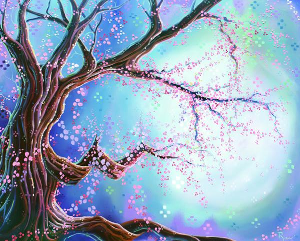 """Daniel Ryan's """"Celestial Spring."""""""