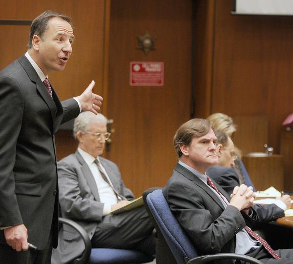 Prosecutor Habib Balian during his final arguments in the murder trial of Christian Karl Gerhartsreiter.