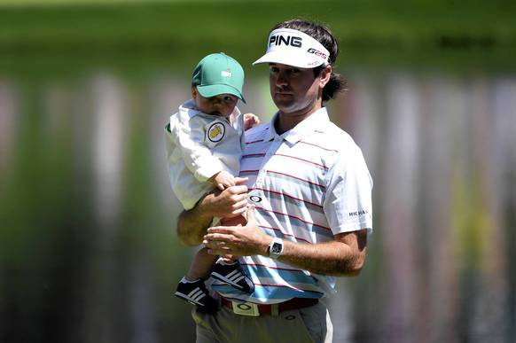 Bubba Watson: It's hard to envision the lefty bomber will join Jack Nicklaus, Nick Faldo and Woods as repeat winners, but Bubba has the chops. He also has the motivation, given that wife Angie and son Caleb will be here this time as witnesses.