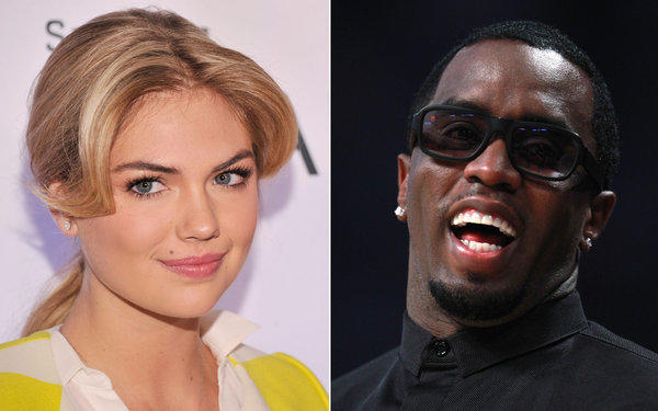 Kate Upton and Diddy aren't an item, they say.