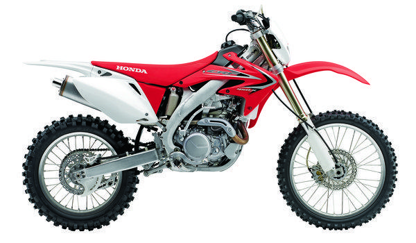 Honda's 2013 CRF450x, above, is a dirt monster. So is its little brother, the CRF250x. They look almost identical.