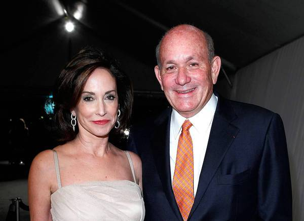 Lilly Tartikoff Karatz and Bruce Karatz will now serve together on the MOCA board.