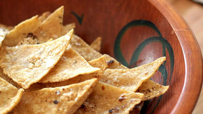 THE KITCHN: Tortilla chips tastier, healthier when baked in your own oven
