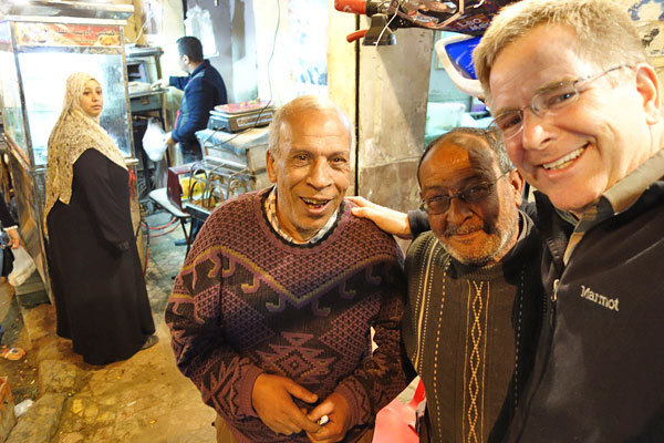 Photos: Shopping in Cairo - As an American on the streets of Egypt, I received only warm and enthusiastic welcomes.